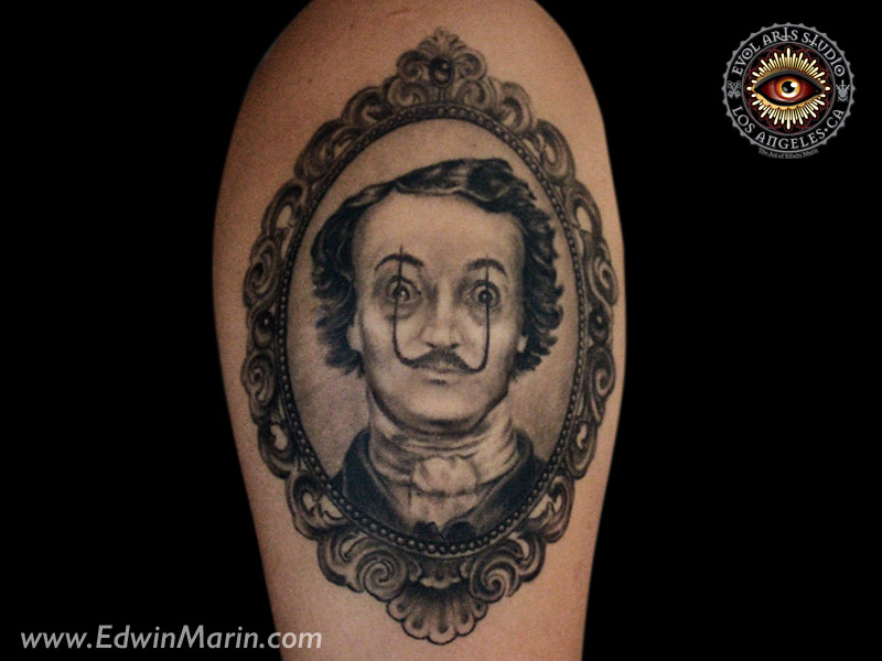 Tattoos | The Art and Tattoos of Edwin Marin